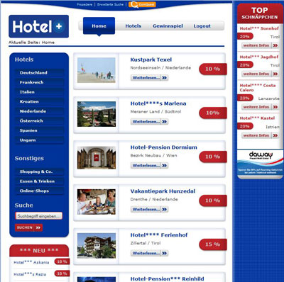 screenshot hotelplus